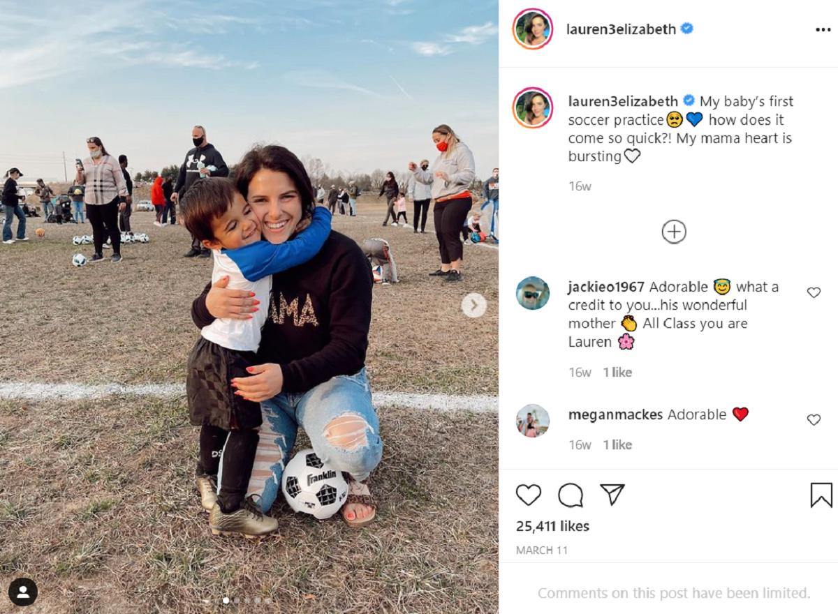 Javi's ex-fiance Lauren Comeau