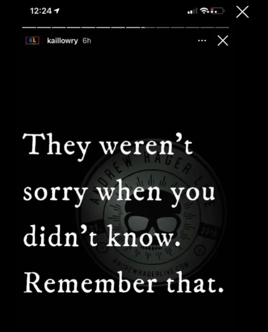 Kailyn Lowry Instagram story