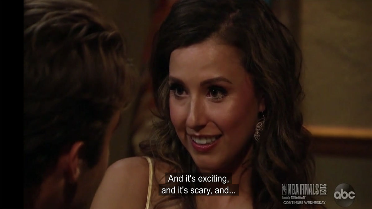Katie Thurston on The Bachelorette