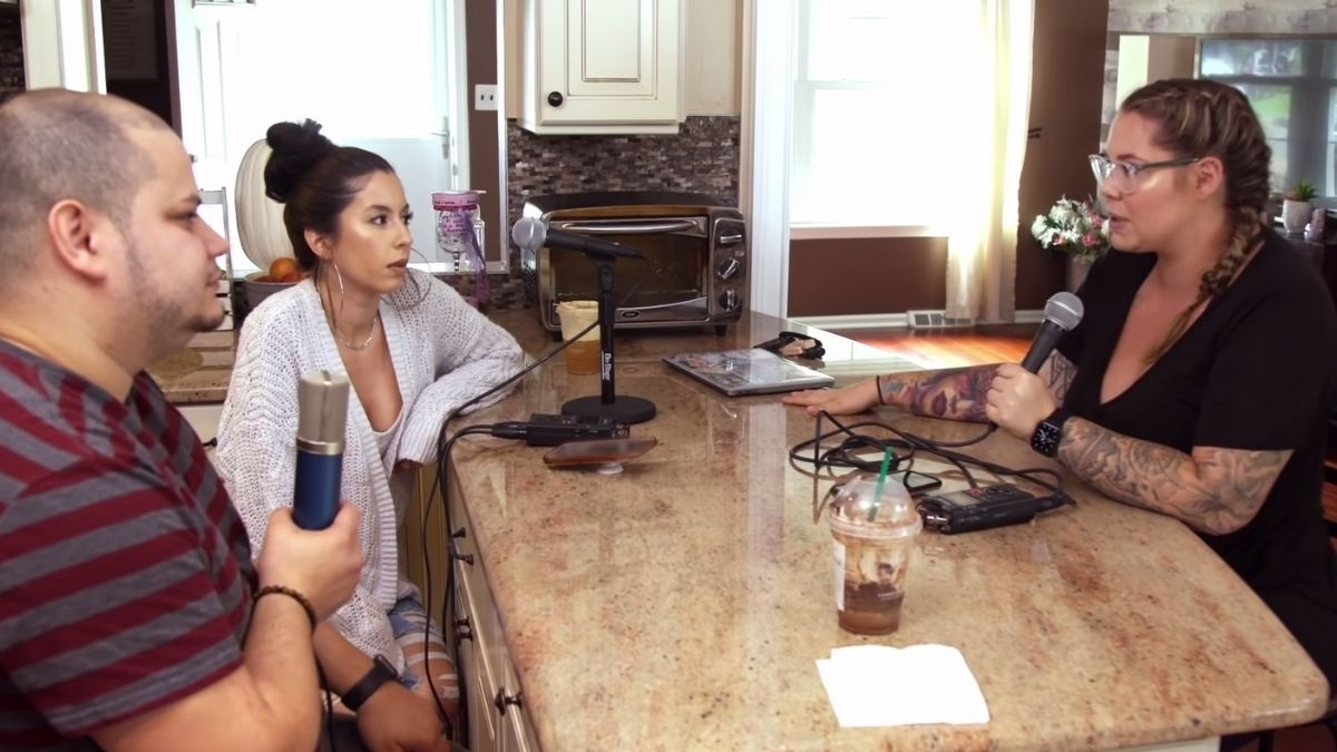 Teen Mom 2 star Vee Rivera admits she has issues to work through with Kailyn Lowry and their podcast