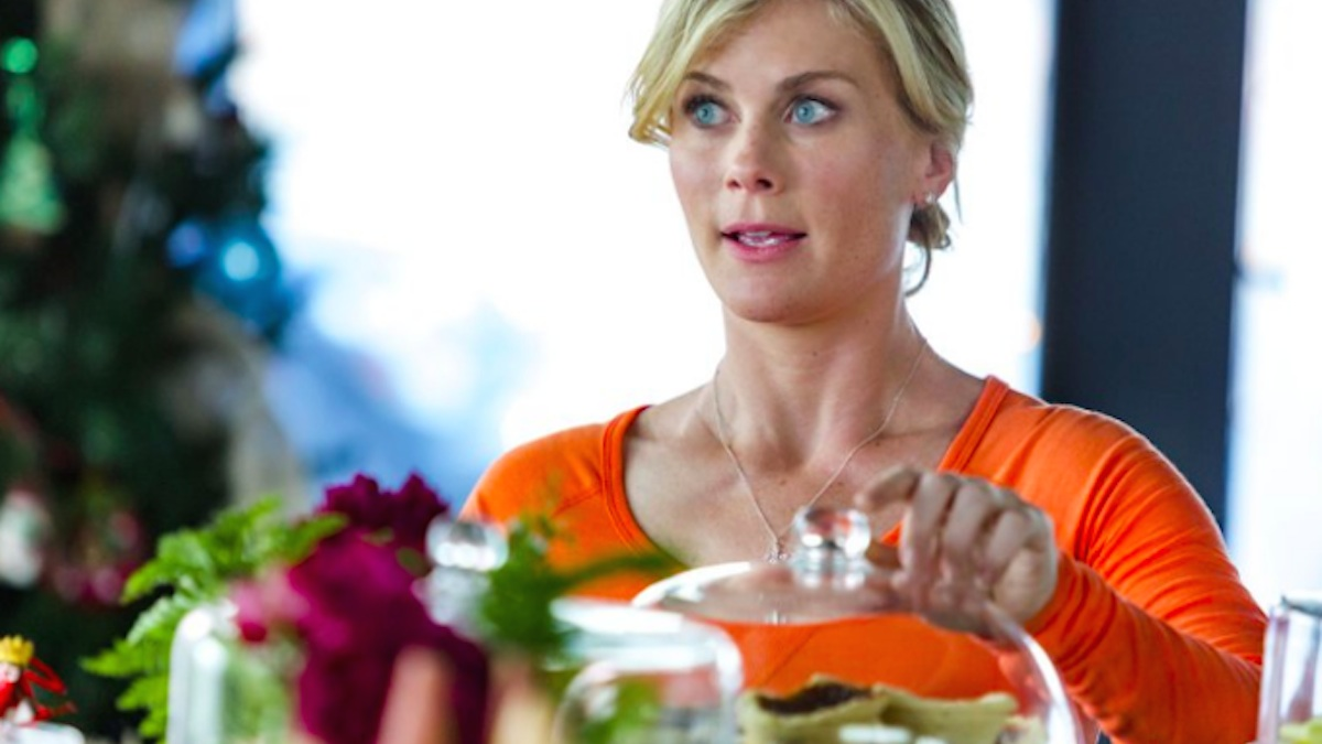 Alison Sweeney plays Hannah Swensen in the Hallmark Movies and Mysteries series Murder, She Baked.