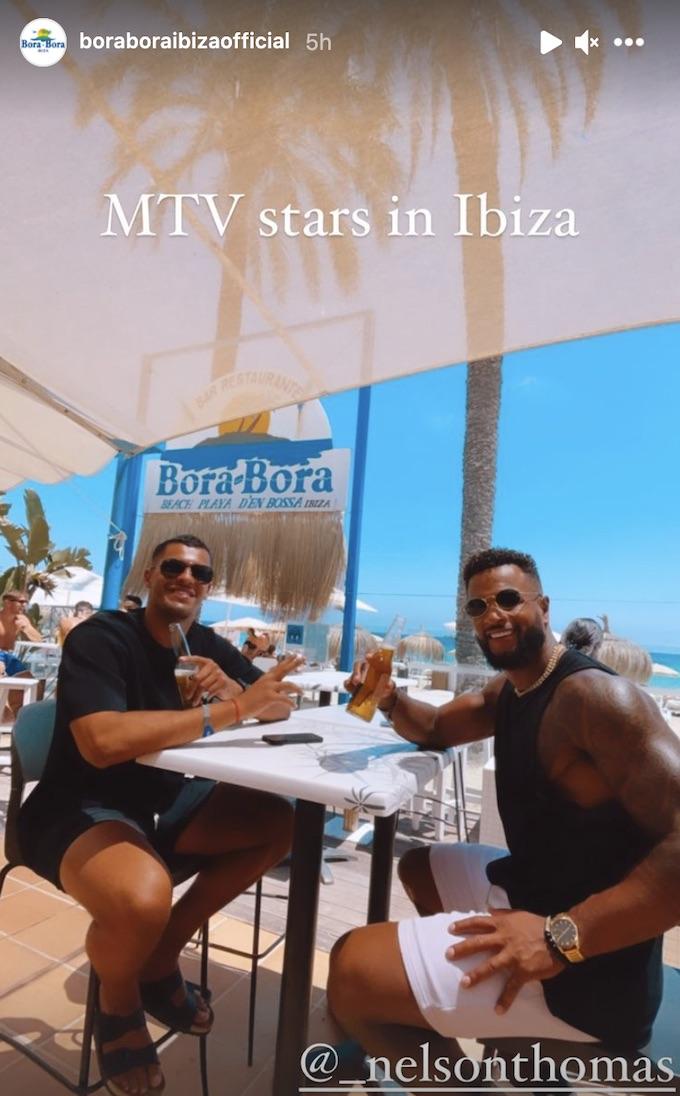 mtv challenge stars in bora bora ibiza