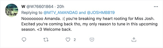 fan reacts to amanda garcia tweet about josh m boxing event
