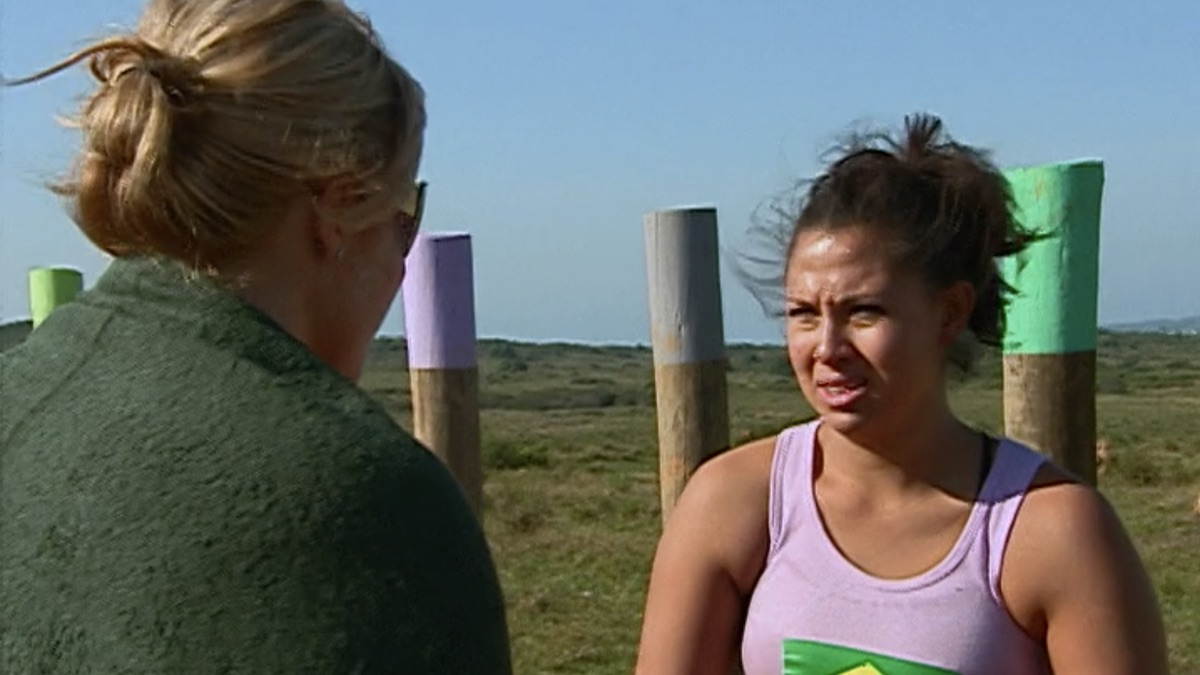 the challenge duel cast members beth stolarczyk and tina barta