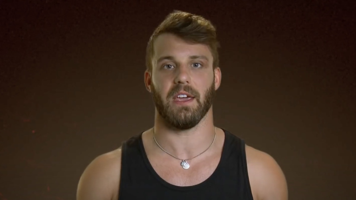 paulie calafiore during the challenge final reckoning