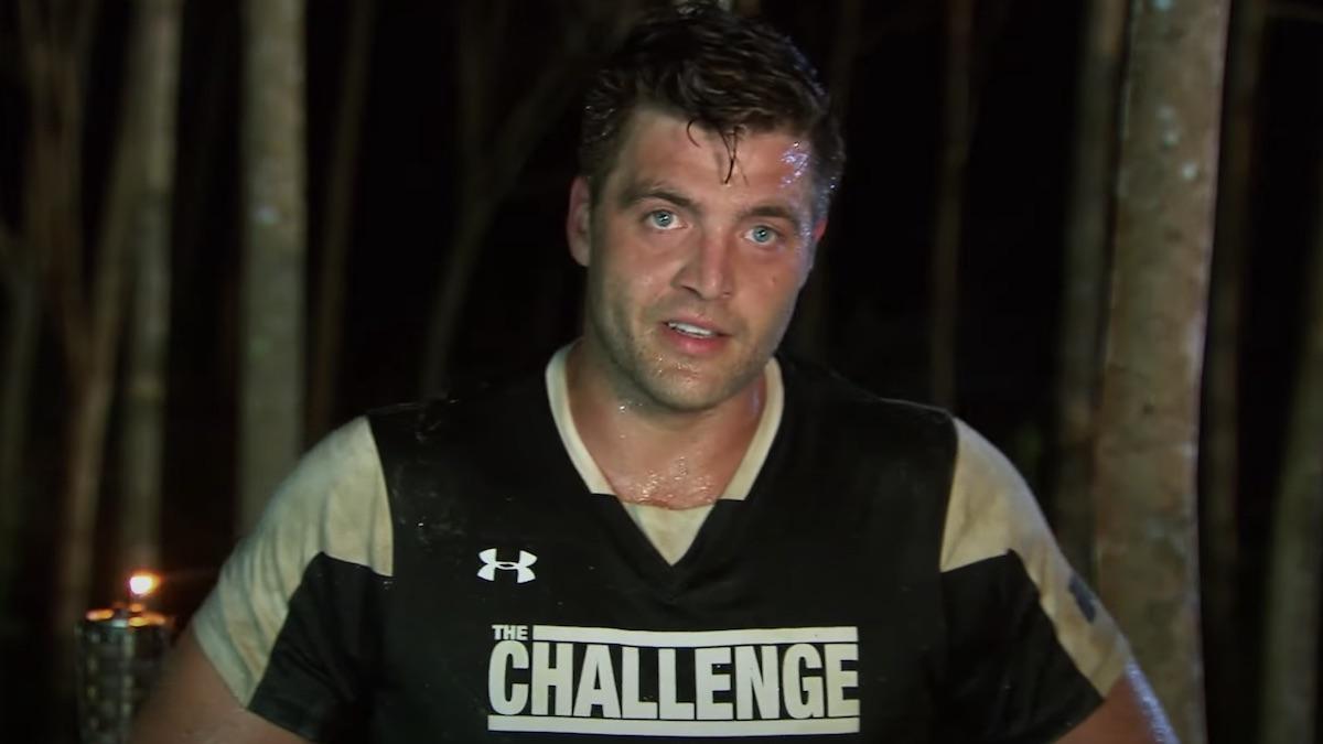 chris ct tamburello during the challenge elimination