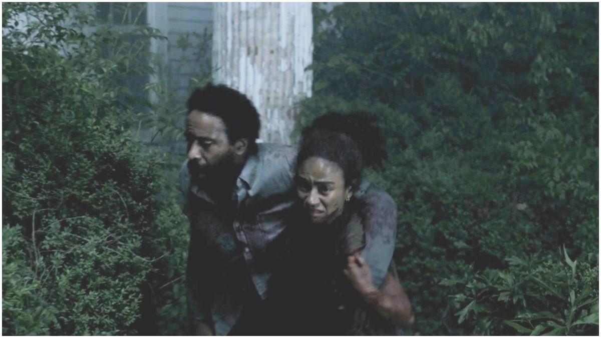Kevin Carroll as Virgil and Lauren Ridloff as Connie, as seen in the Season 11 trailer for AMC's The Walking Dead