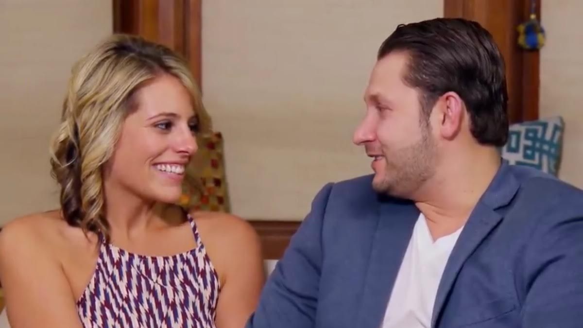 Ashley and Anthony stare adoringly into each others eyes